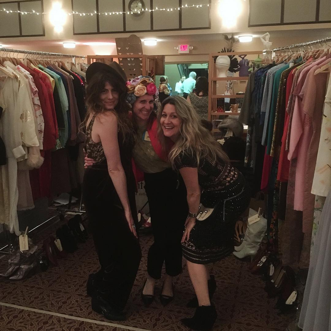 Myself, Jenn & Leslie of juju at Pittsburgh Vintage Mixer
