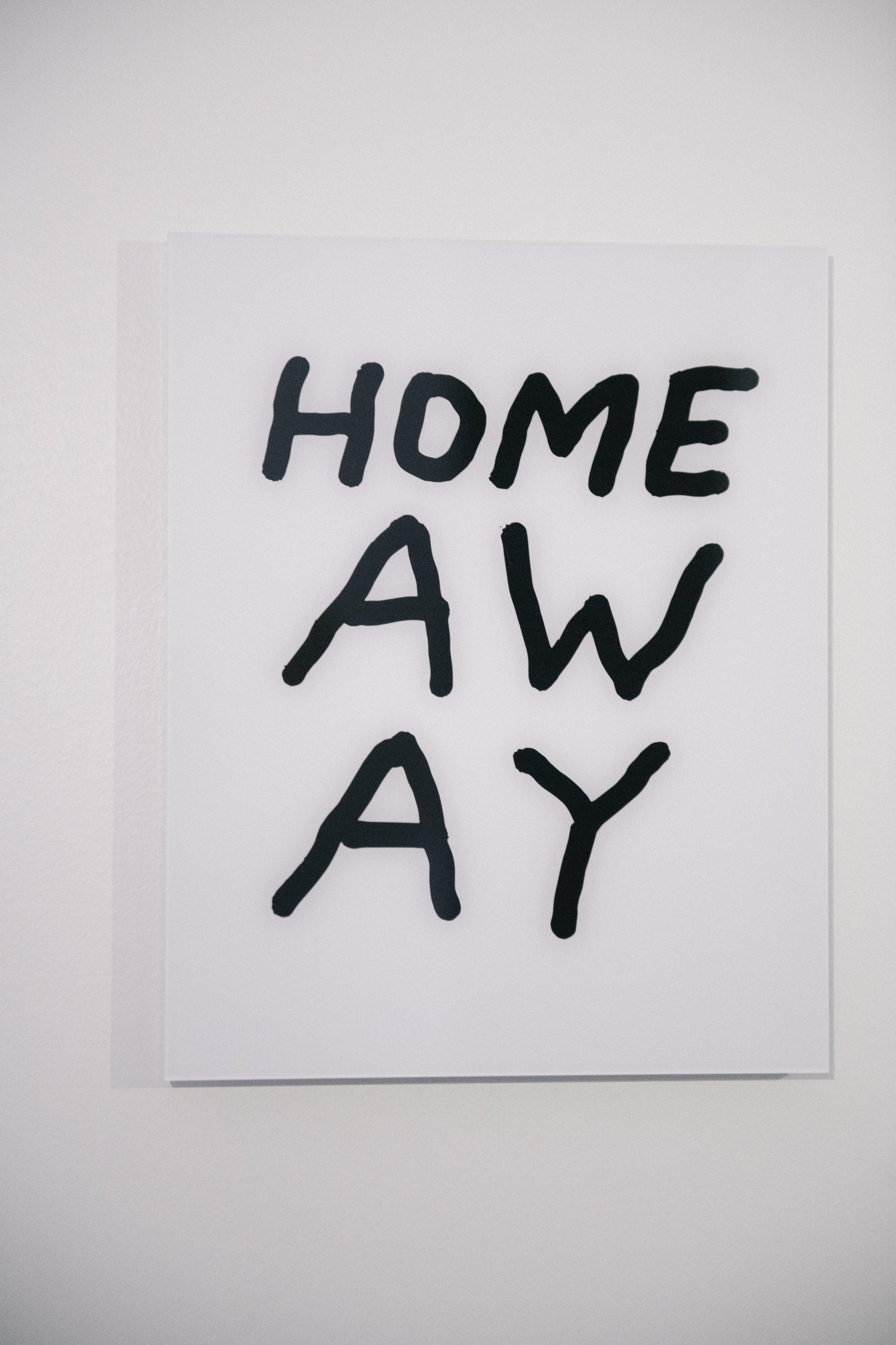 text print by  Seth LeDonne