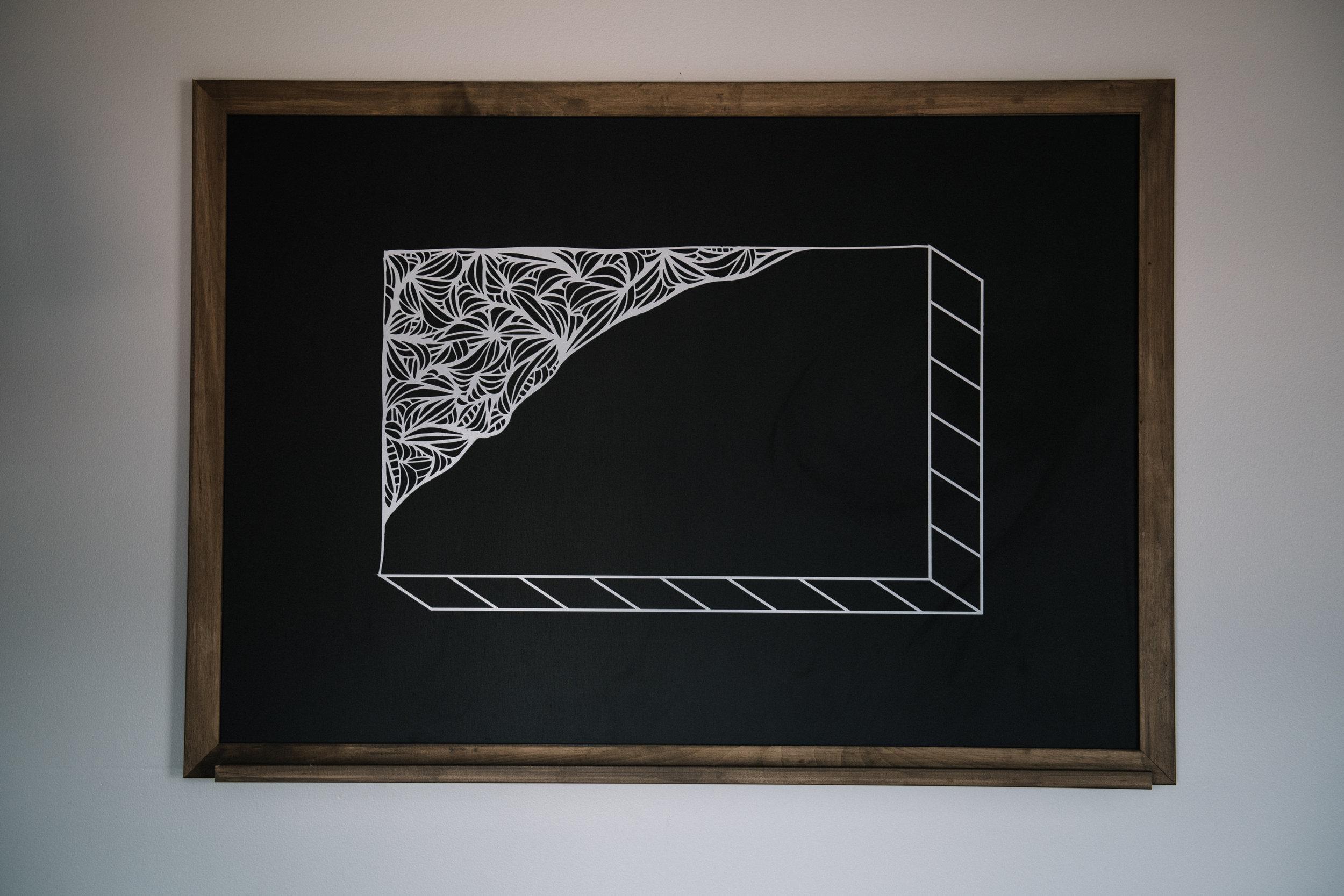 Chalkboard artwork by  Atiya Jones