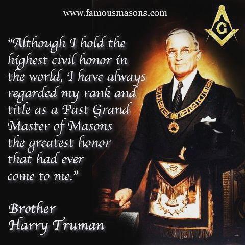 A word from former President Truman, past Grand Master of Missouri . . . #freemason #lodge #scottishrite #yorkrite #president #grandmaster #brothers #faith #charity #truman #harry #excelsior #minnetonka #lakeminnetonka #summer