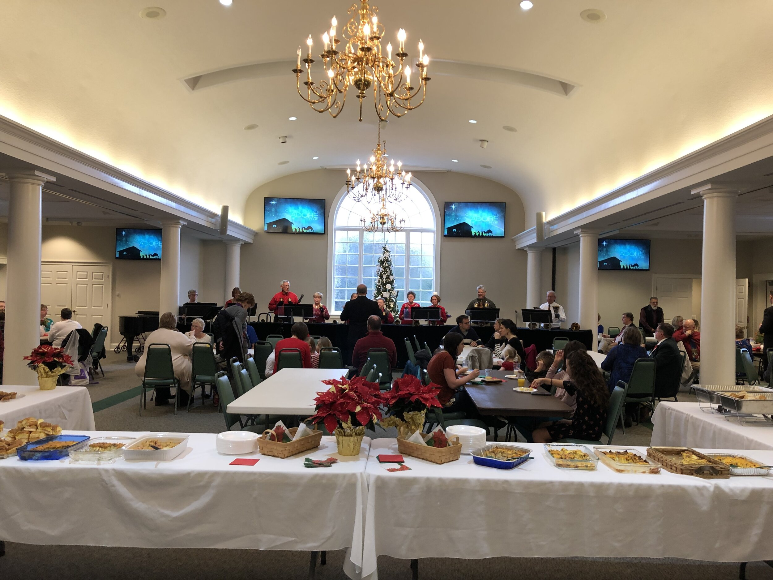 Church-wide Breakfast - December 22 | 8:30 AM - 10 AM | Fellowship Hall