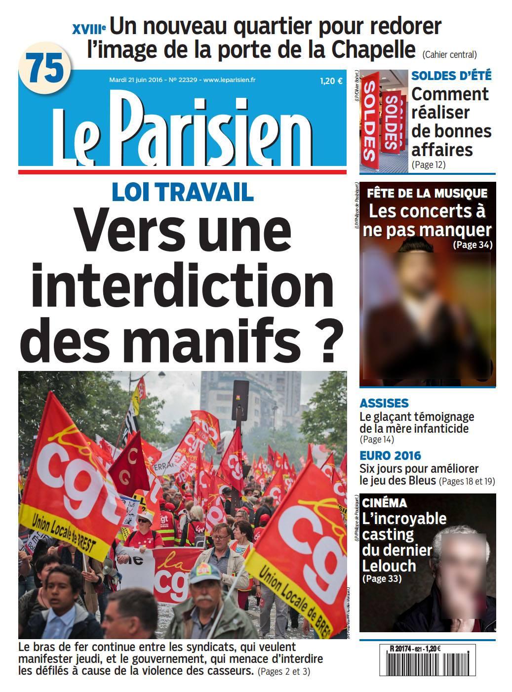 Le Parisien - 21 juin 2016 © Aurélien Morissard.jpg