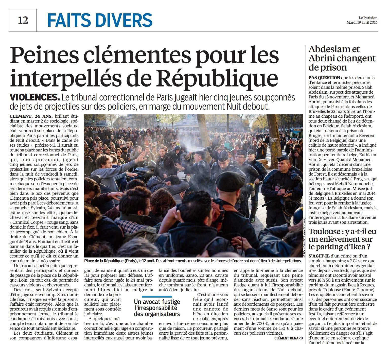 Le Parisien - 19 avril 2016 © Aurélien Morissard.jpg