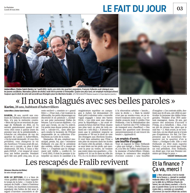 Le Parisien - 30 mai 2016 © Marlène Awaad.jpg