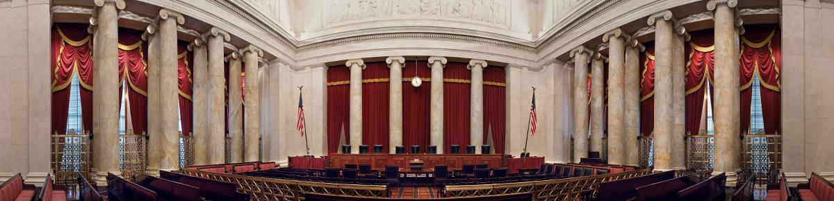 Interior of Supreme Court