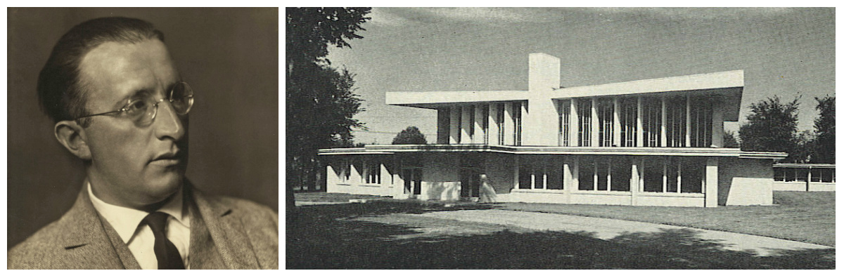 Enrich Mendelsohn; Temple Emanuel in Grand Rapids, circa 1955