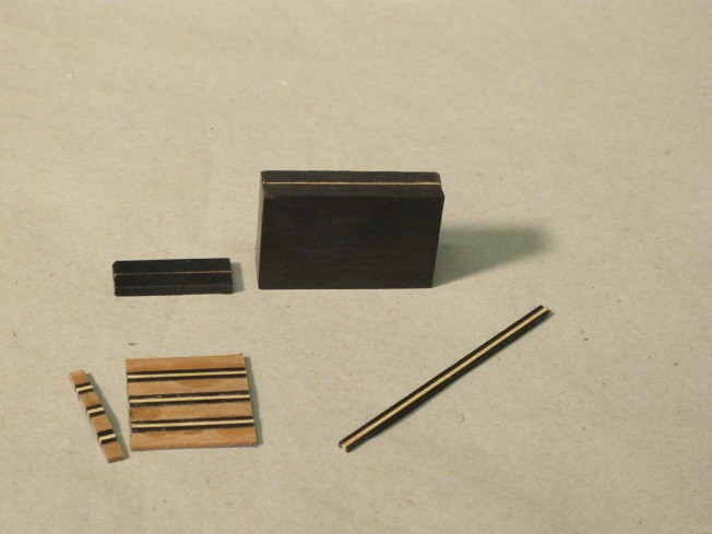 Details of parquetry re-fabrication