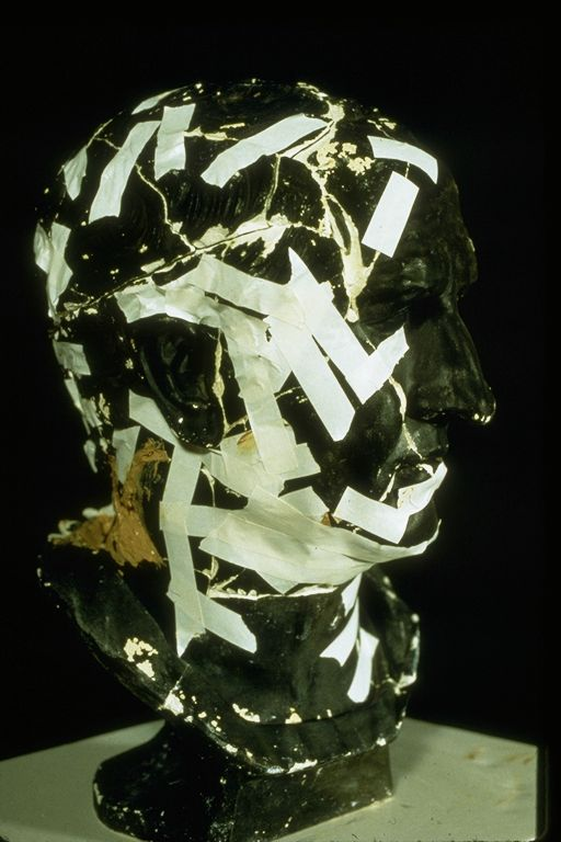 Strips of tape can have harmful effects on your cherished art objects