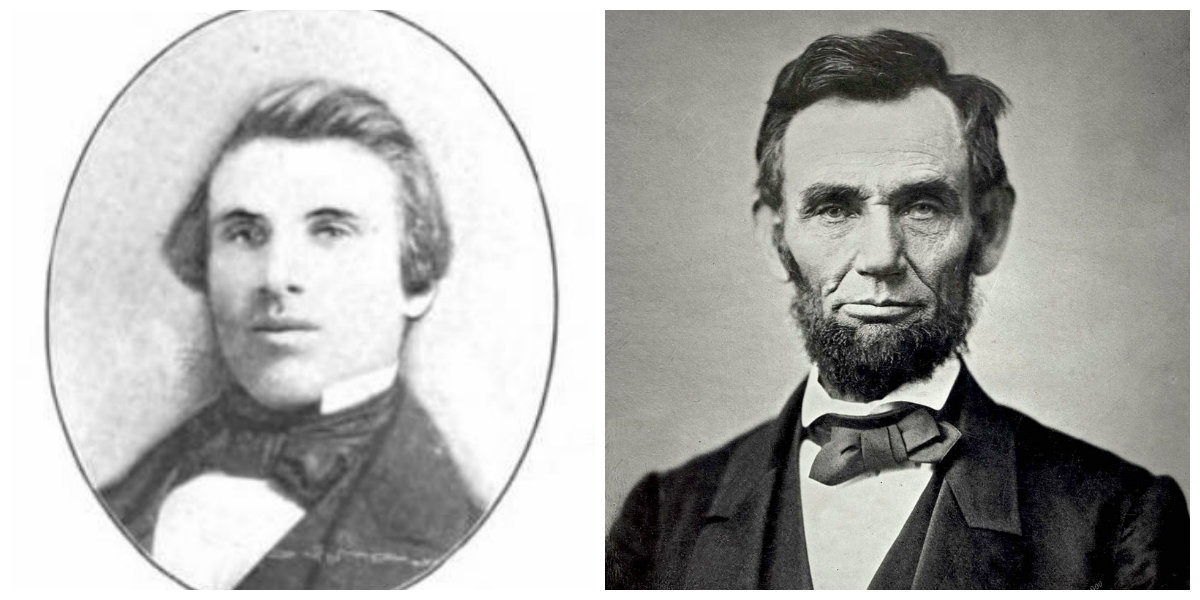 John Henry Manny, inventor of the Manny Reaper; Abraham Lincoln