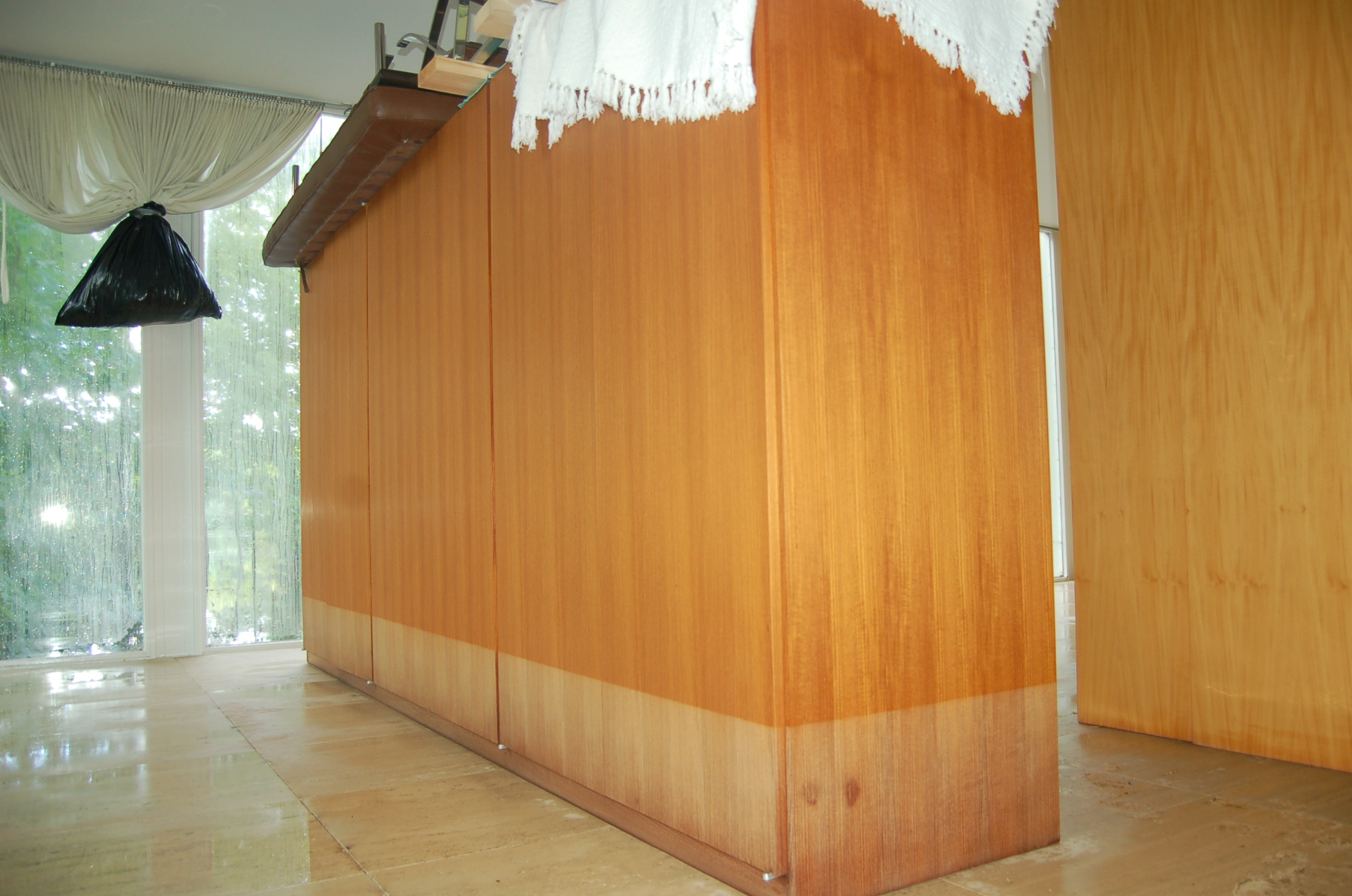 The wardrobe before it was removed from the Farnsworth House