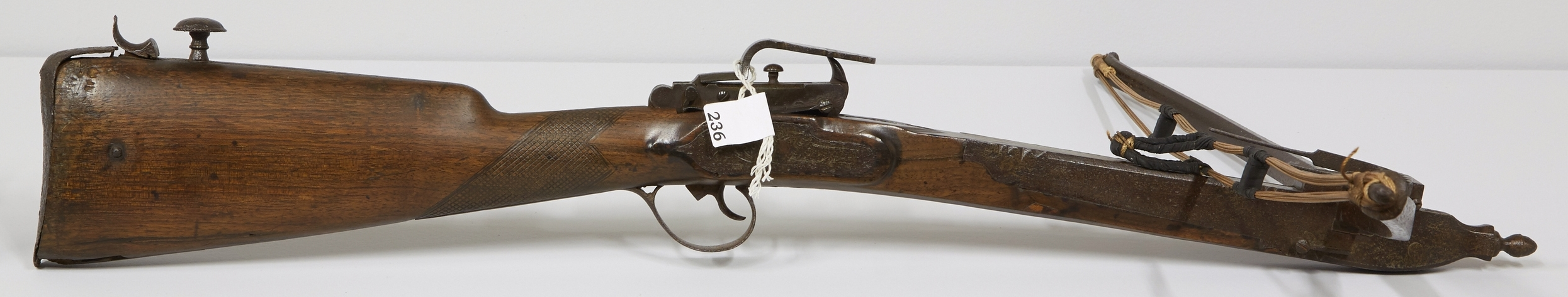After waxing: antique crossbow