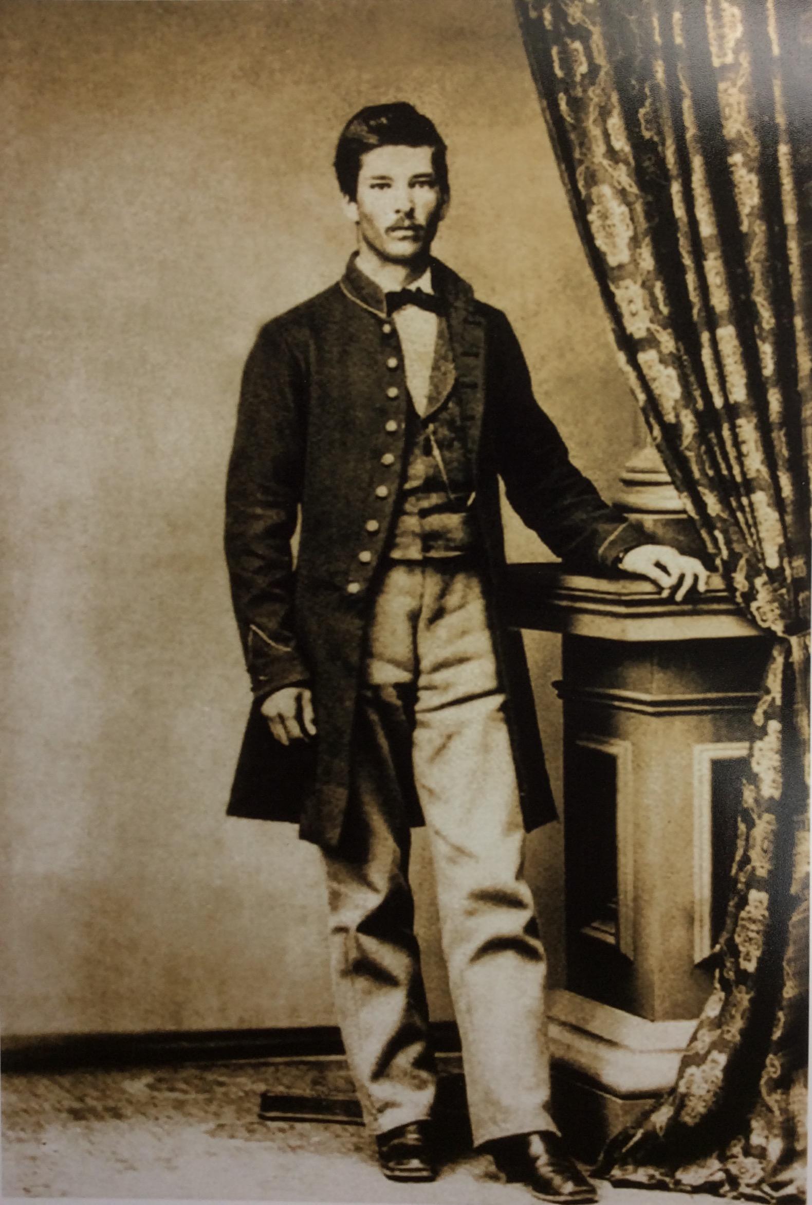 Charles Hamilton Raven, Greg's great-great grandfather.