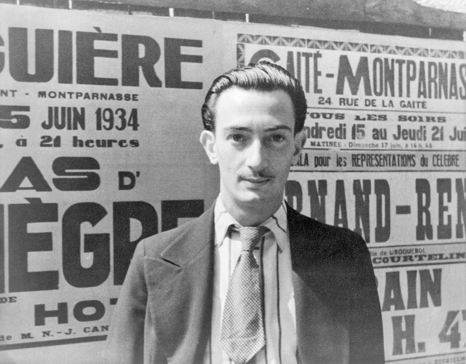 Portrait of Salvador Dali, Paris, Carl Van Vechten