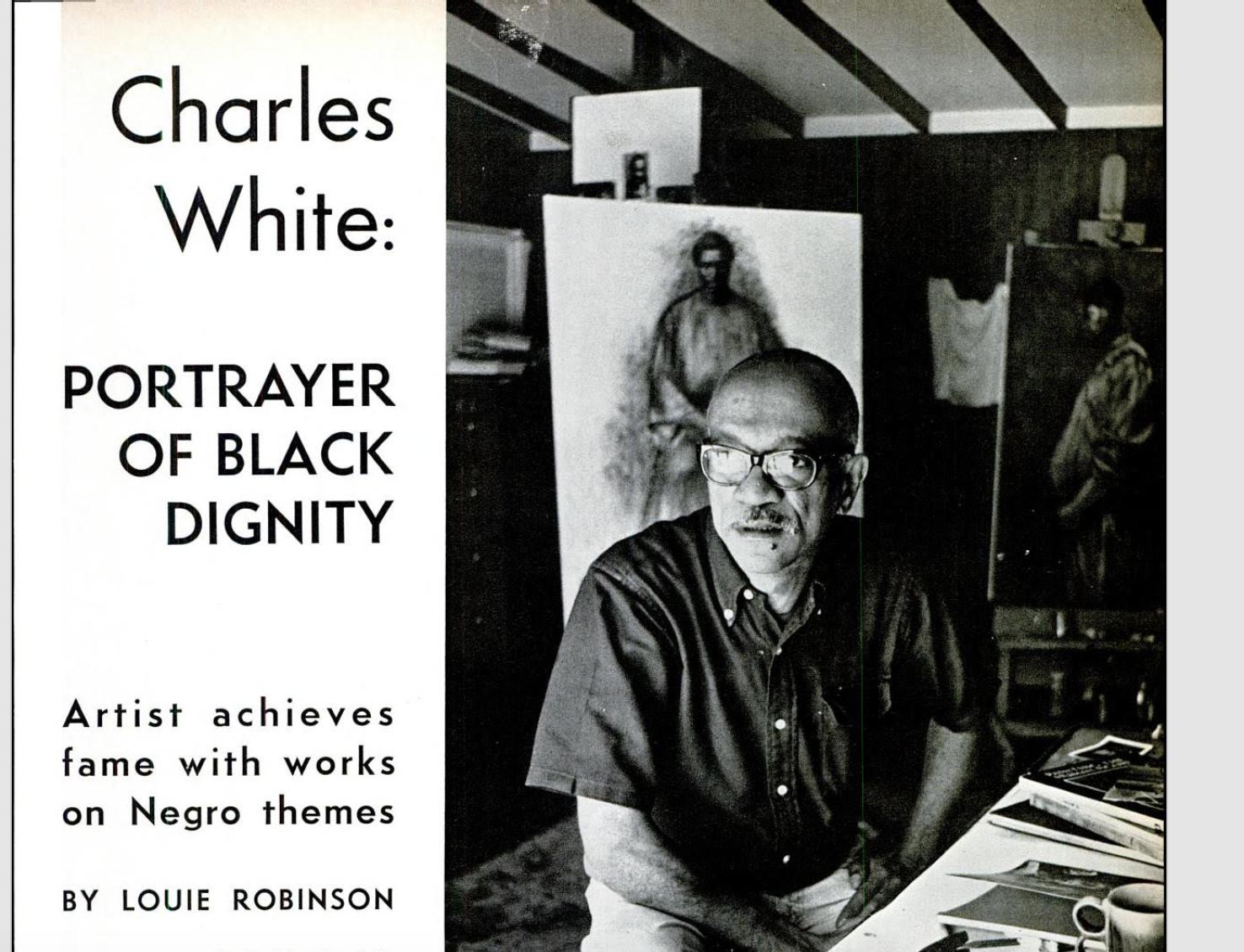 Louie Robinson's 1960 Ebony Magazine article.  Image Courtesy of the Robinson family.