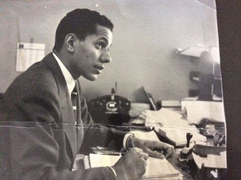 Louie Robinson in the 1960s.  Image courtesy of the Robinson family.