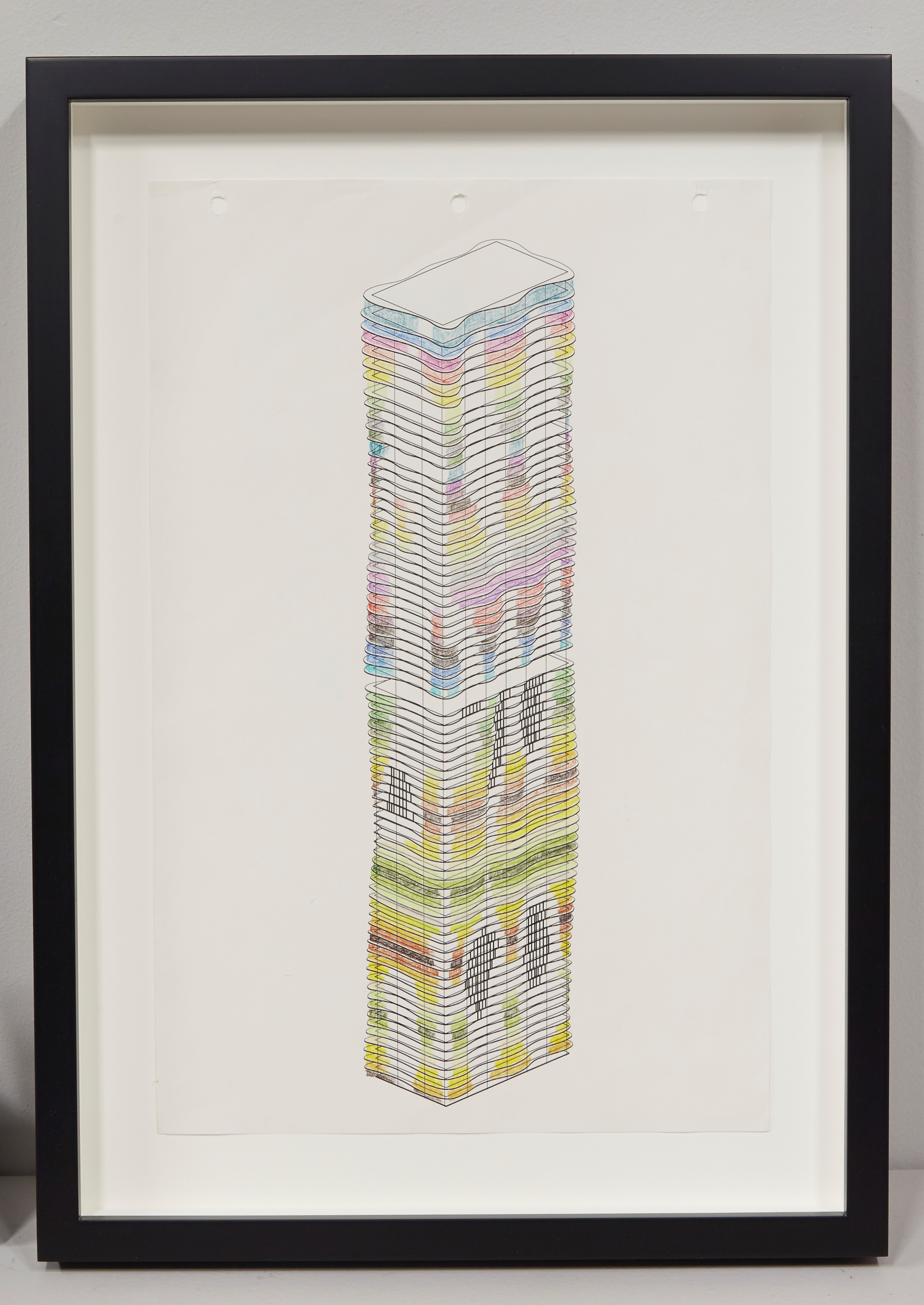 Studio Gang , a Chicago architecture firm, had their drawings custom framed for showing at  EXPO Chicago  in 2016.