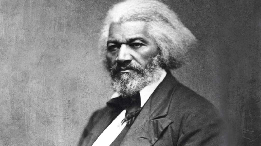 Portrait of Frederick Douglass; image courtesy of Glasshouse Images