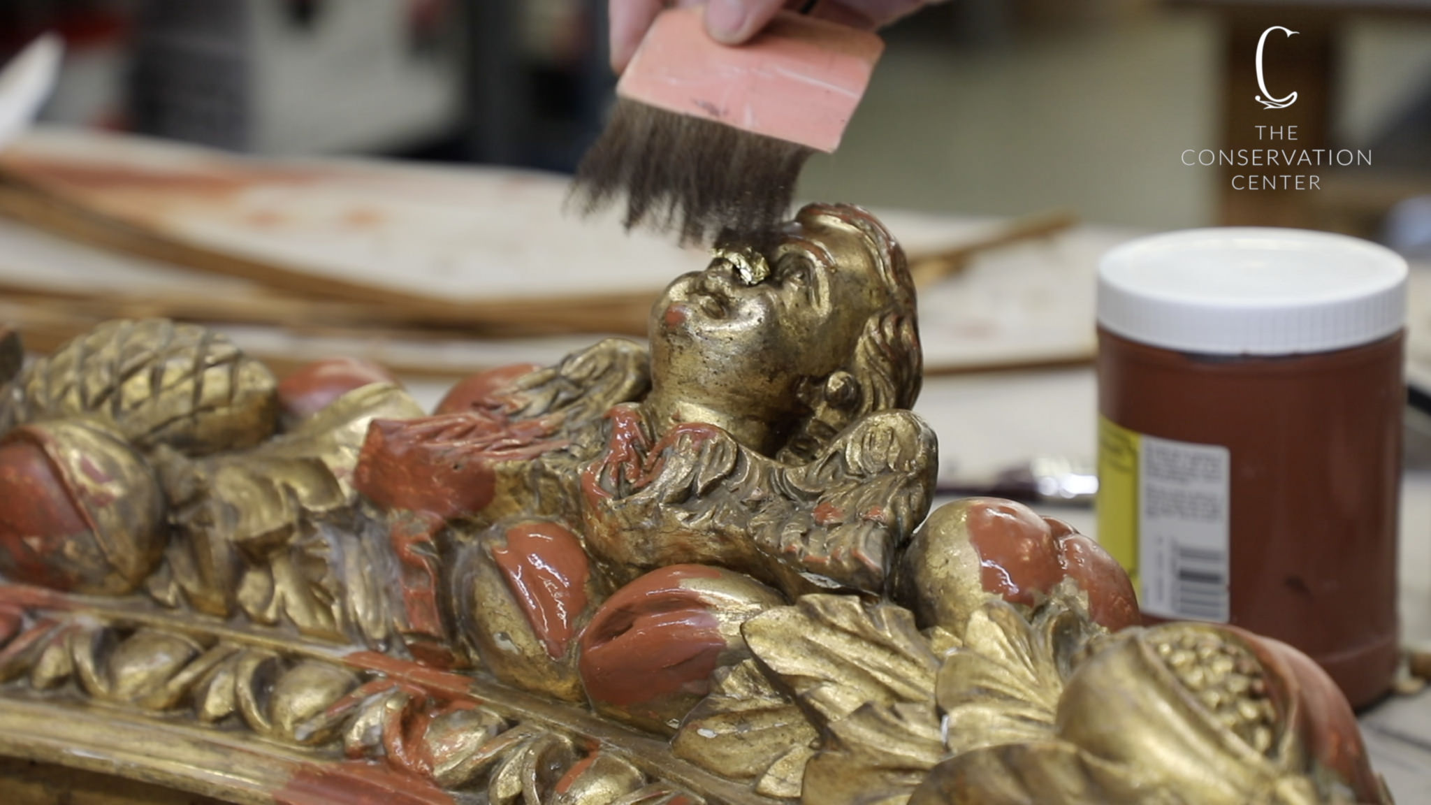 Timeless Techniques: Treating a Gilded Mirror