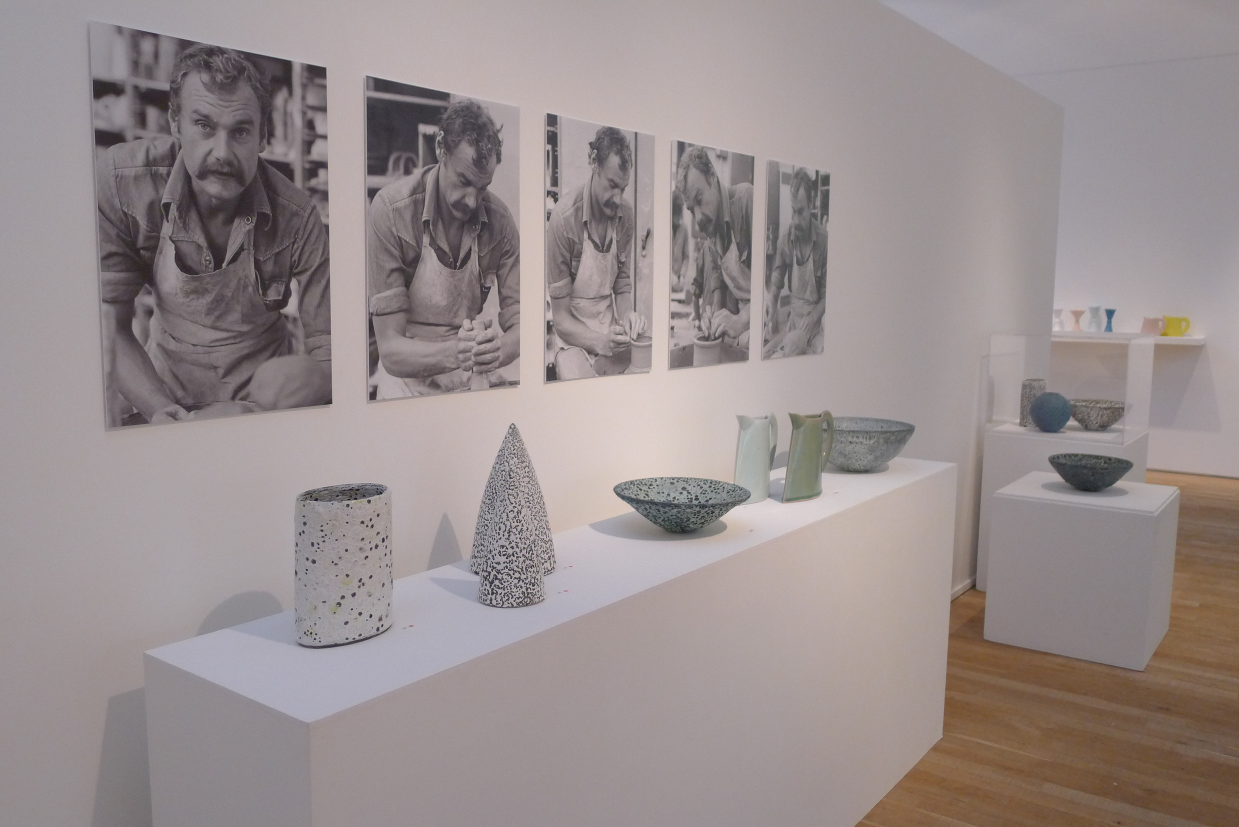 Emmanuel Cooper OBE , retrospective, Ruthin 2013