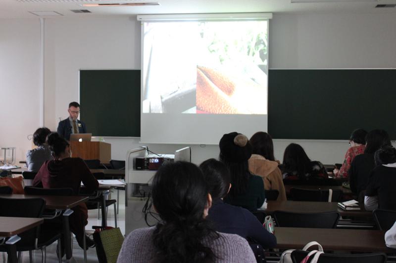 Joshibi Universtity, Tokyo: lecture presentation on British Textiles