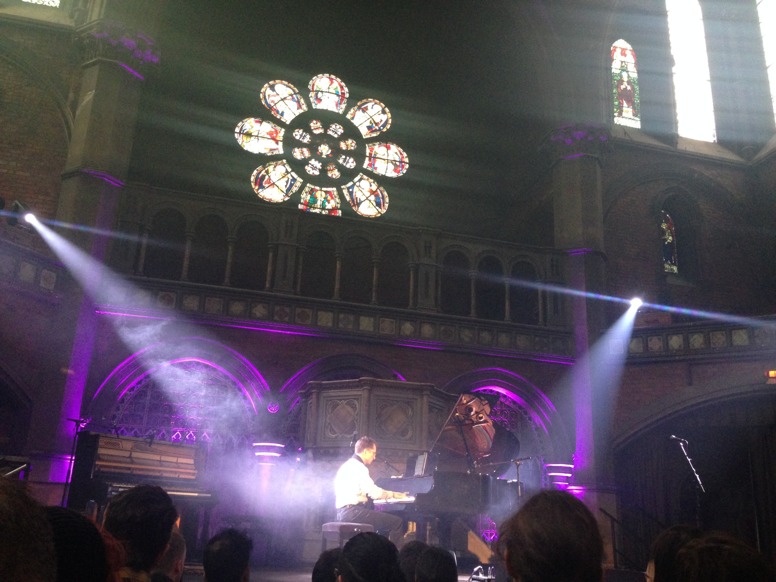 Gavin Greenaway, Daylight Music gig for Piano Day, Union Chapel, Islington, London 26 March 2016
