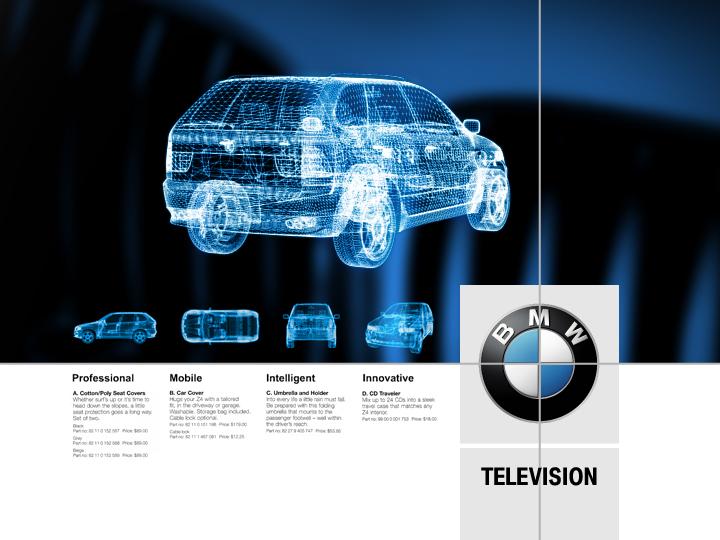 BMW TV  Brand