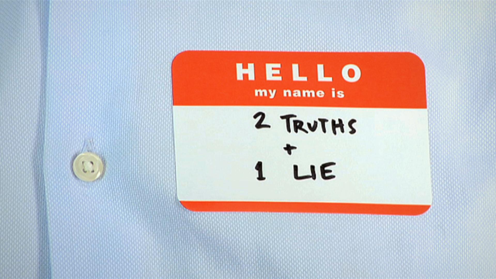 2 TRUTHS + 1 LIE  film