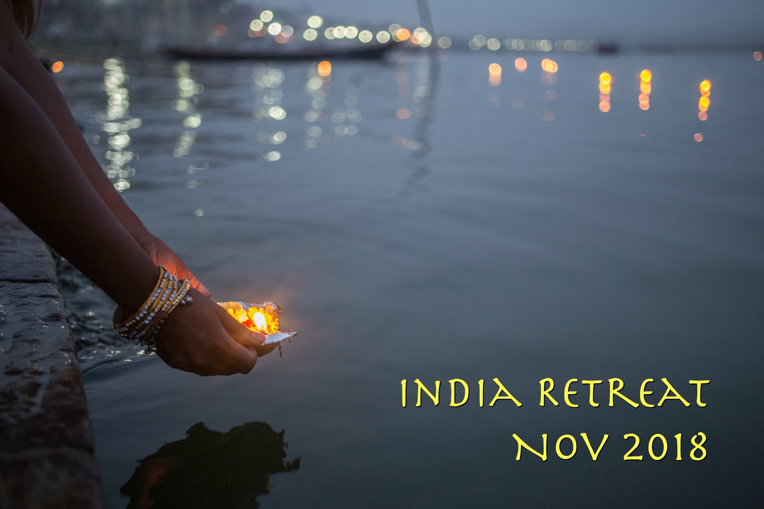 This retreat is closed. A great success, 14 people enjoyed Dehli, Dharmsala, Varanasi during Duwalli, during Festival of Lights.