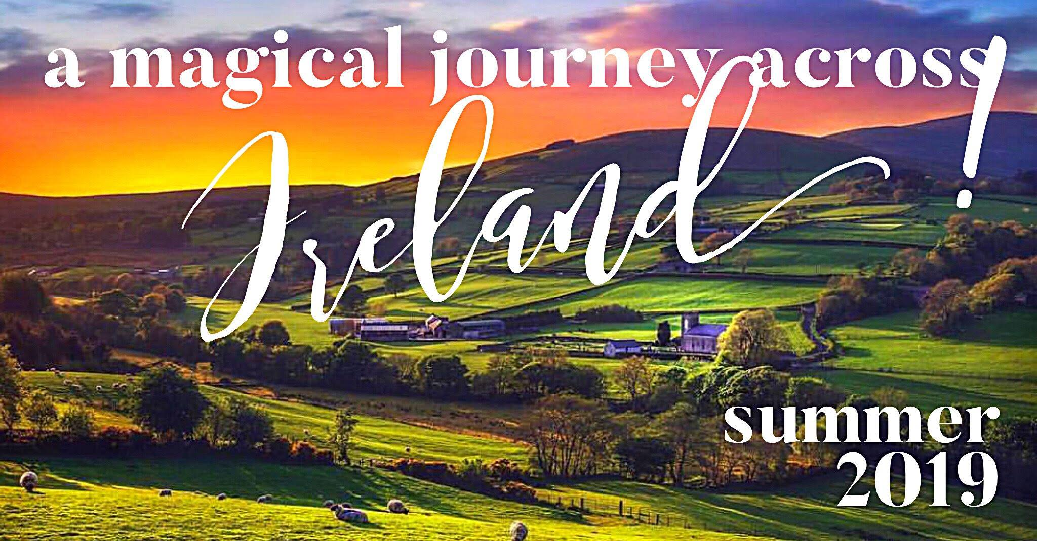 SOLD OUT-2 seats available. We love Ireland. We love the pace, the beauty, the magic...the timelessness. Wont you join us?  Aug 21 at 11 AM – Aug 29 2019 at 2 PM