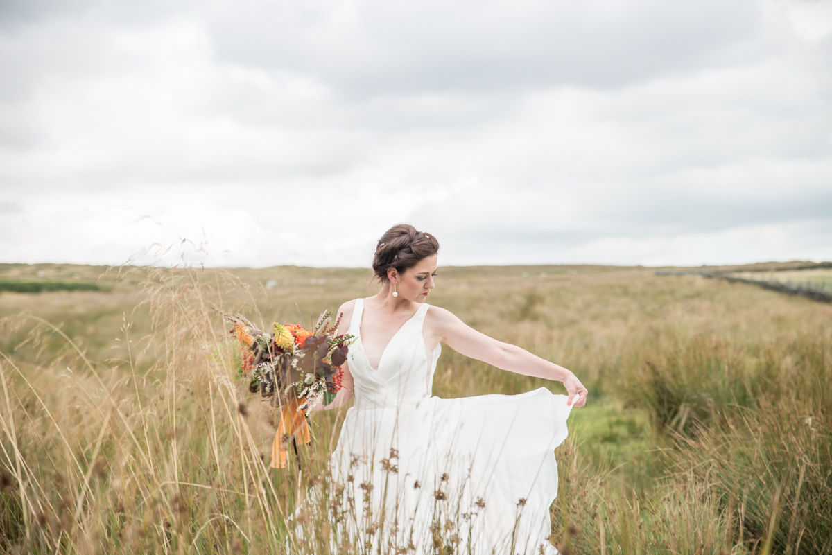 Lady of the Manor - 'Brides Up North' feature