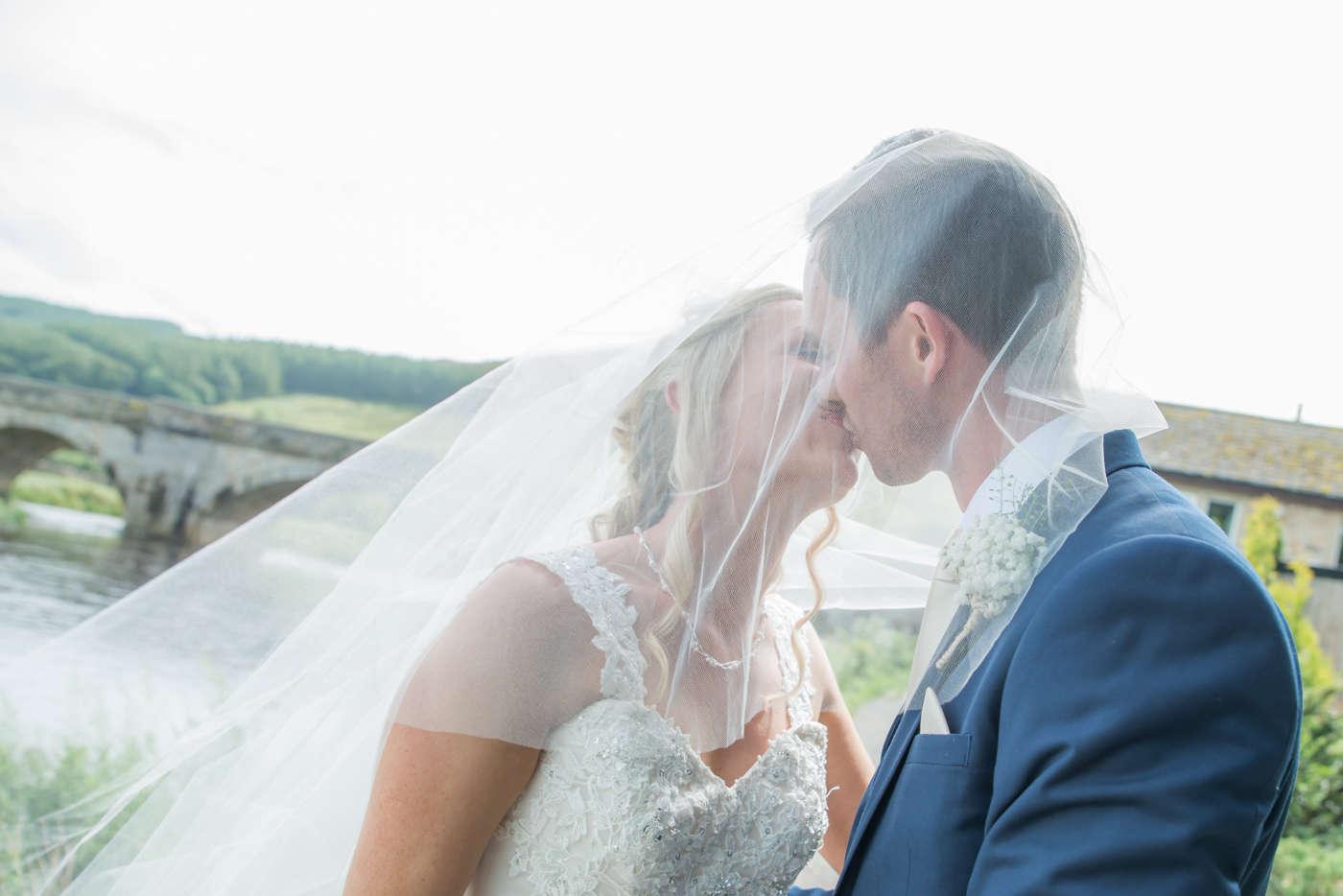 Helen & Jamie - Devonshire fell wedding