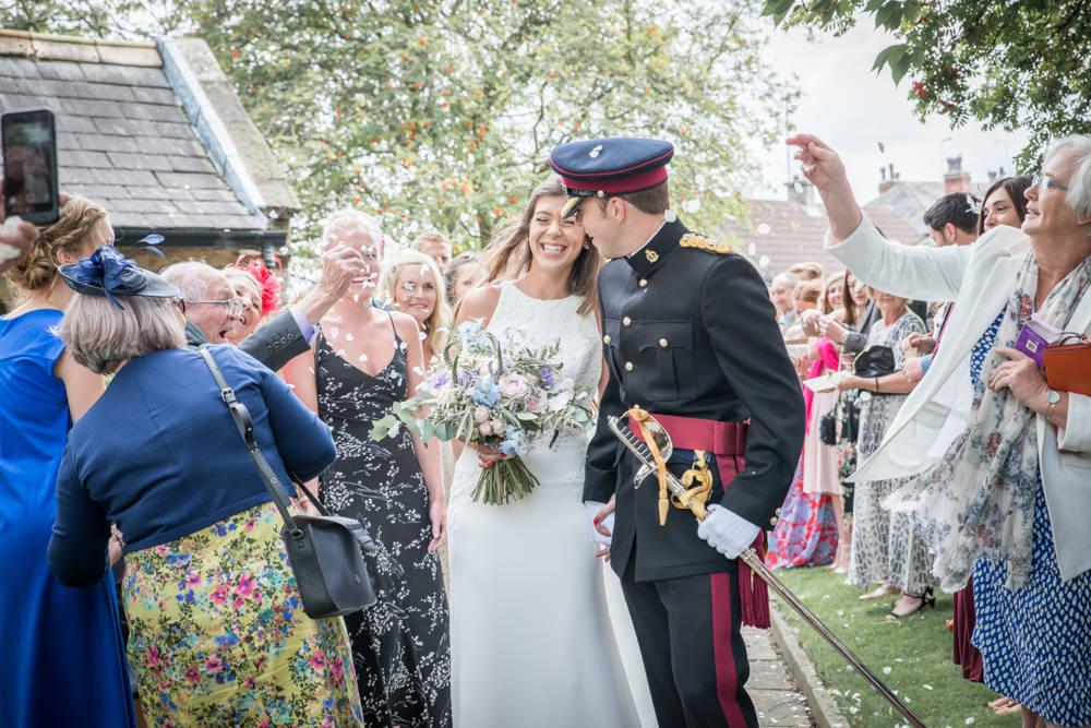 yorkshire wedding confetti shot
