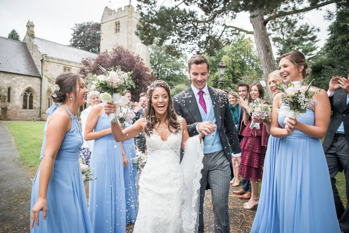 Anna & Guy - North yorkshire wedding at the family home