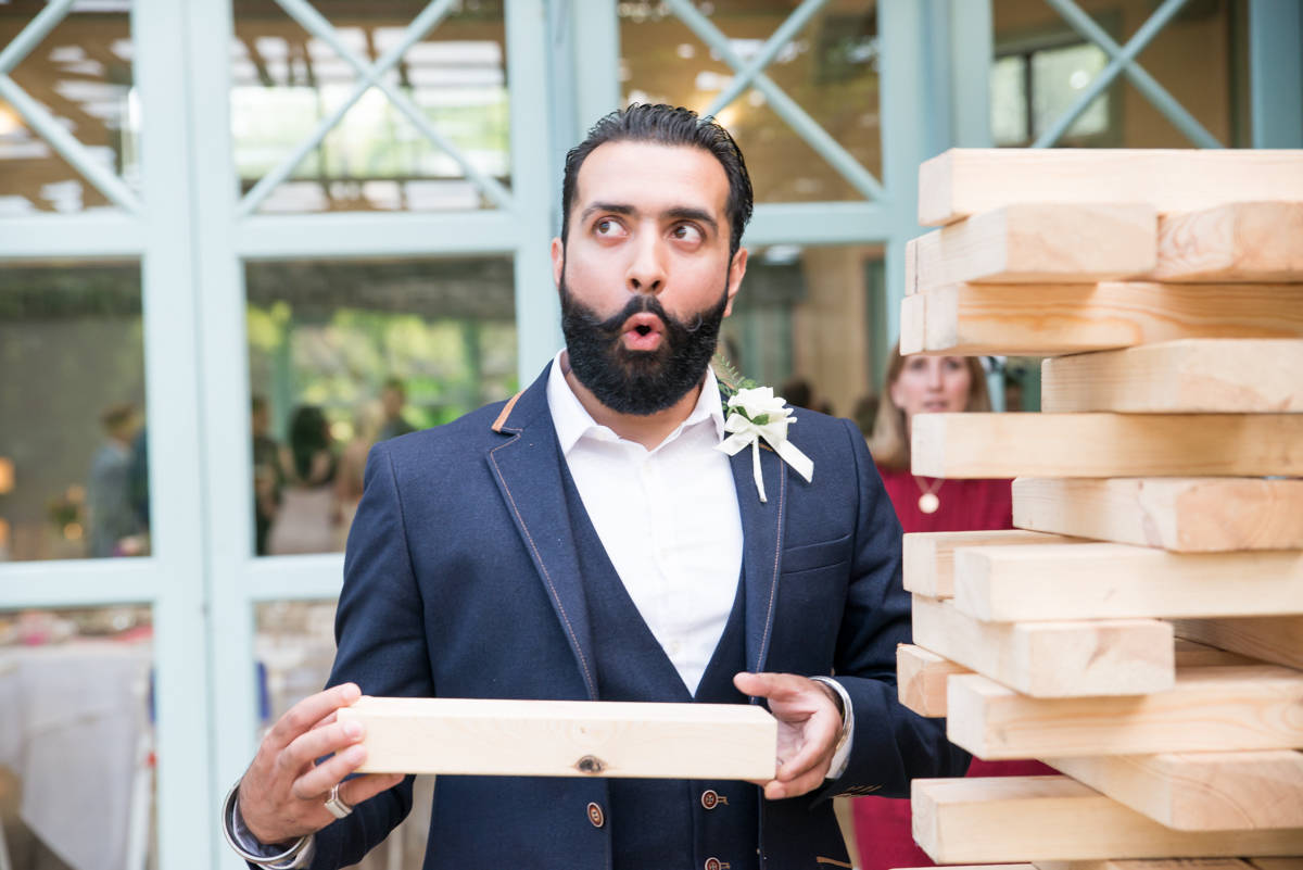 Wedding guests -