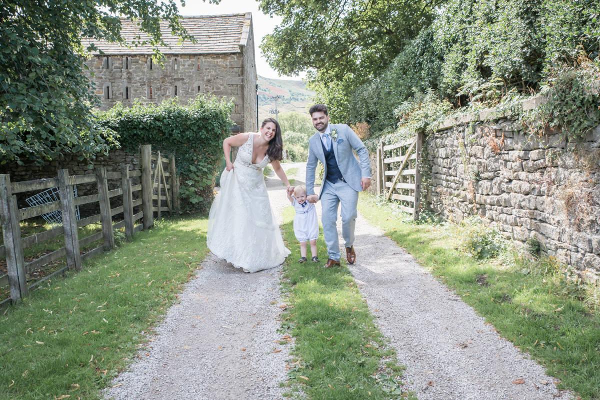 Yorkshire Wedding Photographer - Natural Wedding Photography - Burnsall Wedding Photographer (17 of 33).jpg