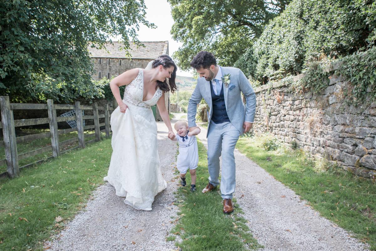 Yorkshire Wedding Photographer - Natural Wedding Photography - Burnsall Wedding Photographer (20 of 33).jpg