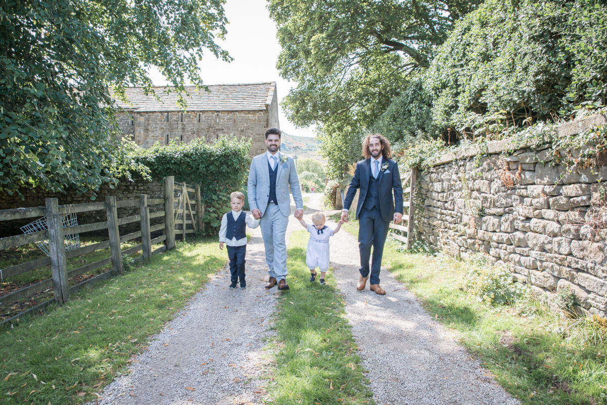 Yorkshire Wedding Photographer - Natural Wedding Photography - Burnsall Wedding Photographer (25 of 33).jpg