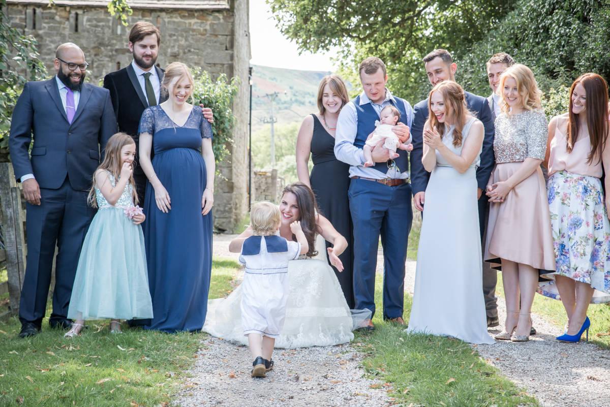 Yorkshire Wedding Photographer - Natural Wedding Photography - Burnsall Wedding Photographer (32 of 33).jpg