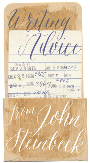Writing Advice from John Steinbeck