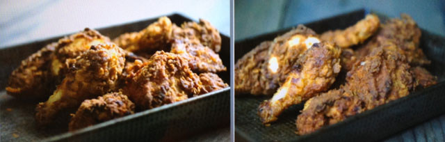 Fried Chicken Food Photography