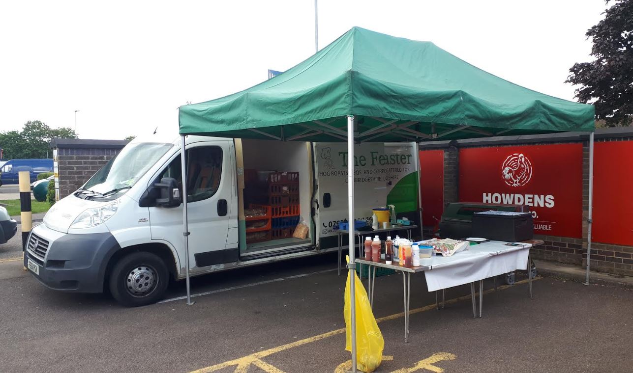 Corporate Event Catering At Howdens Peterborough.JPG