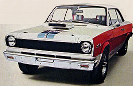 Image from an AMC advertisement for the Super Coupe.