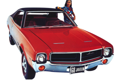AMC advertisement for the 1968 Javelin.