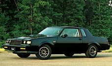 Advertisement from Buick for the GNX.