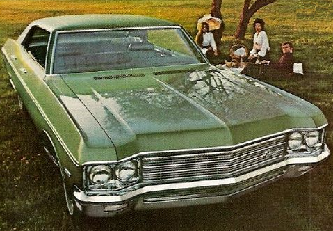Advertisement for the 1970 Chevrolet Caprice.