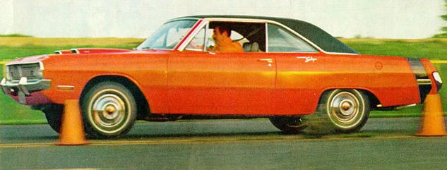 Advertisement for the 1970 Dodge Dart Swinger.