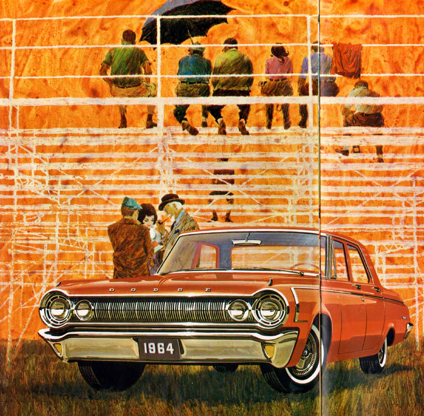 Advertisement for the 1964 Dodge Polara.