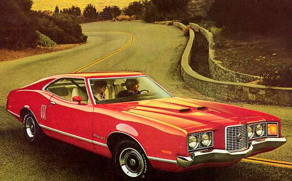 Advertisement for the 1971 Cougar GT.