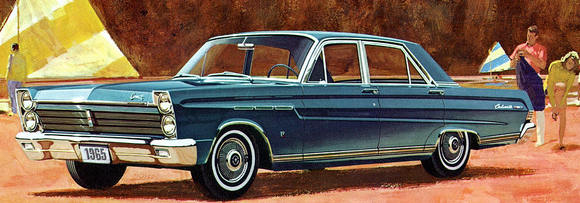 Advertisement for the 1965 Comet Caliente.
