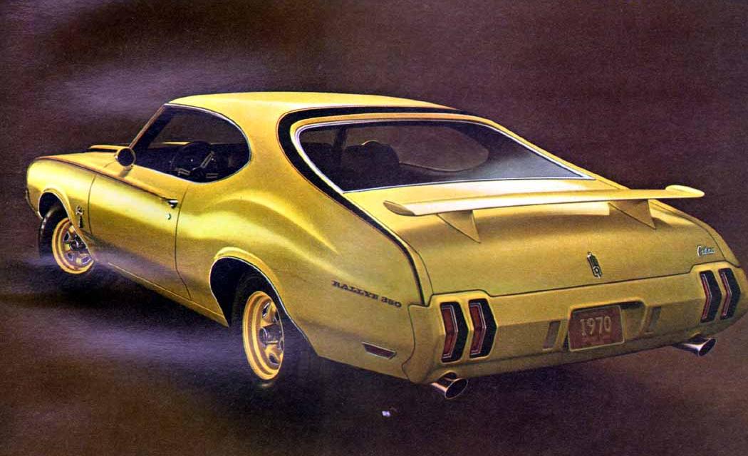 Advertisement for the 1970 Rallye 350.